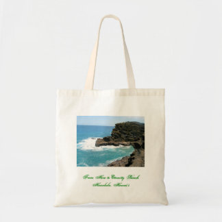 From Here to Eternity Beach, Honolulu, Hawai'i Tote Bag