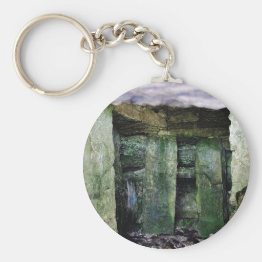 From Inside The Carrowkeel Tombs Keychain