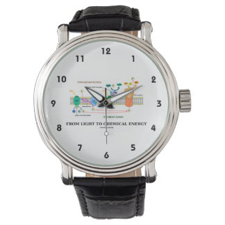From Light To Chemical Energy (Photosynthesis) Wristwatch