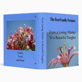 From Loving Mother To Beautiful Daugher recipes Binder