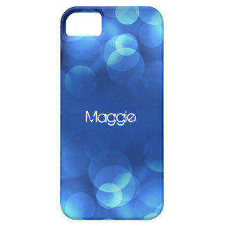 From Lucy: MODERN LIGHT BUBBLES   Personalized iPhone 5 Case