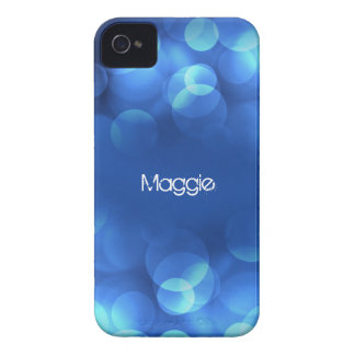From Lucy: MODERN LIGHT BUBBLES   Personalized Case-Mate iPhone 4 Case