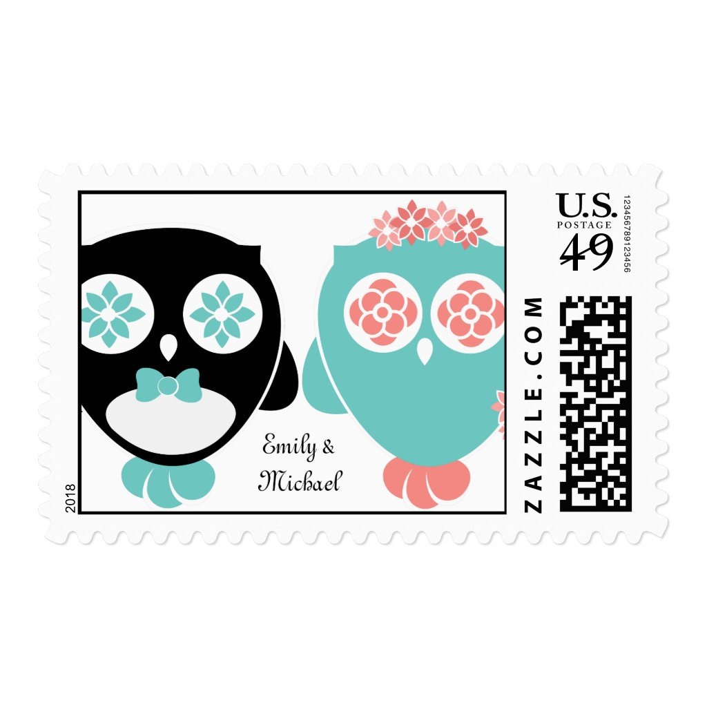 From Lucy: Owl Wedding | Stamps
