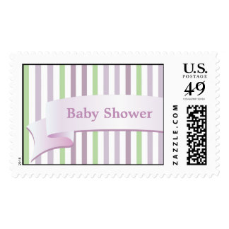 From Lucy: STRIPES & RIBBON   Personalized Stamp