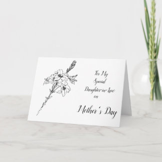 (From Me) Happy Mother's Day Daughter-in-law Card