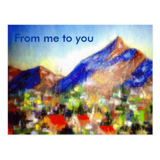 From me to you postcard