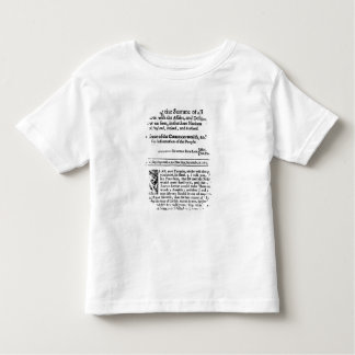 from 'Mercurius Politicus' Toddler T-shirt