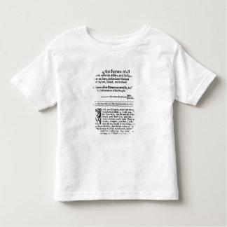 from 'Mercurius Politicus' Toddler T-shirt