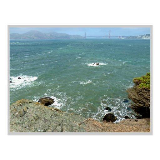 From Mile Rock Beach - San Francisco Postcard