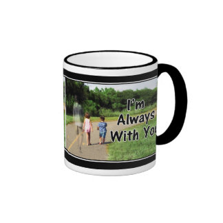 From Missing Dad - I'm Always With You Ringer Coffee Mug