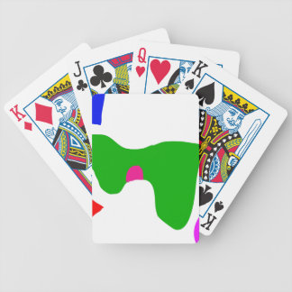 From Morning till Night Bicycle Playing Cards