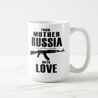 From Mother Russia with Love AK Mug