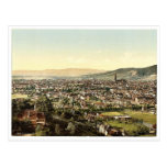 From Mount Loretto, Freiburg, Baden, Germany class Postcard