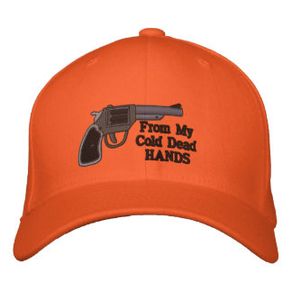 From My Cold Dead Hands 2nd Amendment Embroidered Baseball Cap