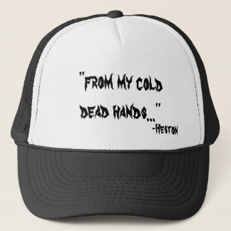 From My Cold Dead Hands Cap