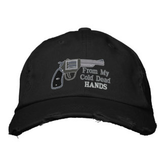 From My Cold Dead Hands Second Amendment Embroidered Baseball Cap