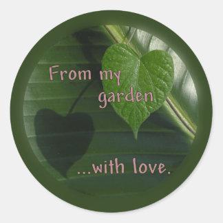 From My Garden Sticker