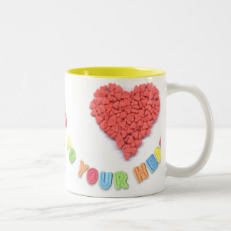 From my heart to your heart mug