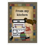 From My Kitchen Greeting Card