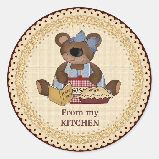 From My Kitchen sticker