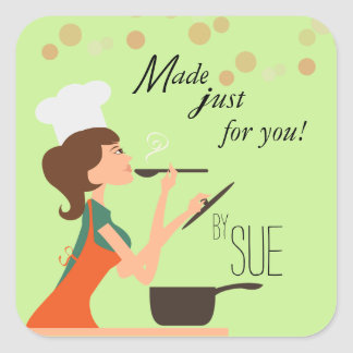 From My Kitchen to Your Table Custom Stickers