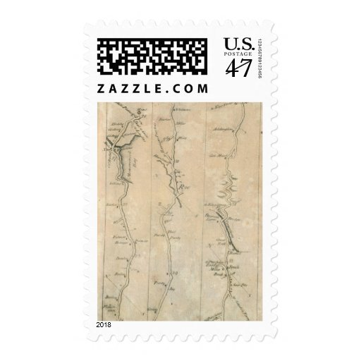 From New York to Stratford 3 Postage Stamp