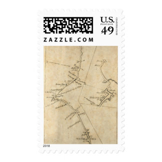 From New York to Stratford 7 Postage Stamp