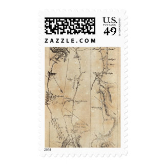 From New York to Trenton 44 Postage Stamps