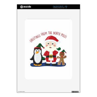 From North Pole iPad Skin