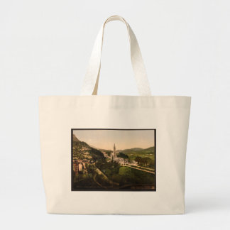 From Notre Dame de Lourdes, Lourdes, Pyrenees, Fra Jumbo Tote Bag