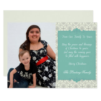 From Our Family To Yours Holiday Photo Card