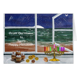 From our Home to Yours....Happy Hanukkah.......... Card