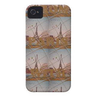 From Paris With Love blue sky colors iPhone 4 Cover
