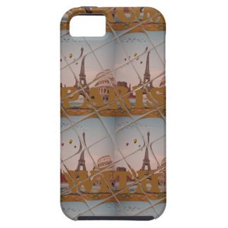From Paris With Love blue sky colors iPhone SE/5/5s Case