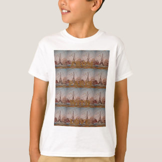 From Paris With Love blue sky colors T-Shirt