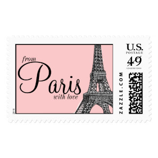 From Paris with Love Postage