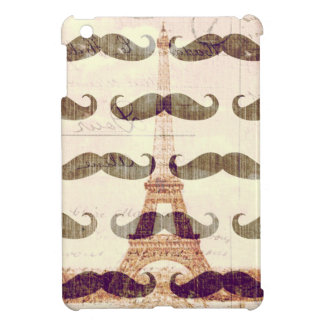 From Paris with mustache iPad Mini Cover