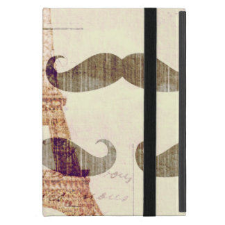 From Paris with mustache iPad Mini Covers