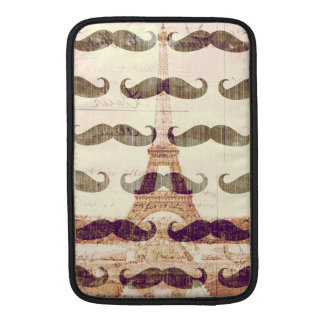 From Paris with mustache Sleeves For MacBook Air