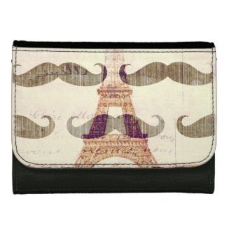 From Paris with mustache Women's Wallet