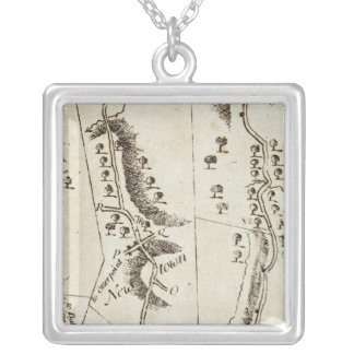 From Philadelphia to Annapolis Md 57 Silver Plated Necklace