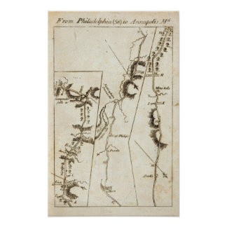 From Philadelphia to Annapolis Md 58 Poster