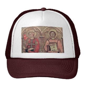 From Pisa Altarpiece Predellatafel Third From Left Mesh Hat