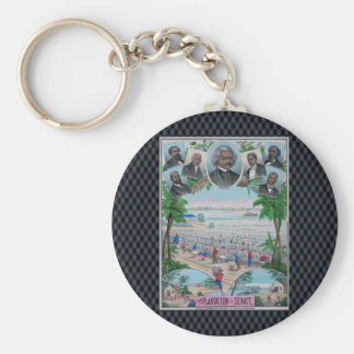 From Plantation To The Senate Basic Round Button Keychain