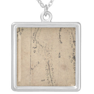 From Poughkeepsie to Albany 25 Personalized Necklace