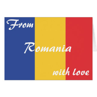 From Romania, with love Card