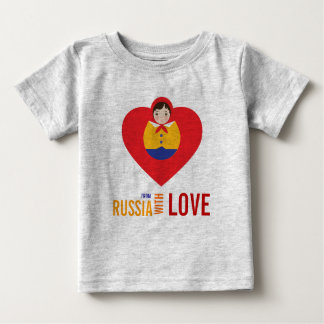 From Russia with Love Adoption Shower Shirt