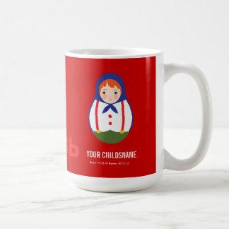 From Russia with Love Boy Adoption Gift Coffee Mug
