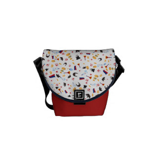 From Russia With Love Messenger Bag