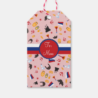 From Russia With Love- Russian Gifts Gift Tags